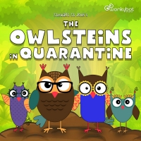 Wonkybot Studios Releases Timely, Uplifting Kids Podcast Series 'The Owlsteins In Qua Photo