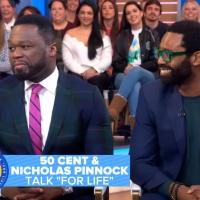 VIDEO: 50 Cent & Nicholas Pinnock Talk FOR LIFE on GOOD MORNING AMERICA Photo