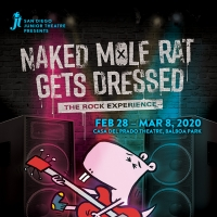 Junior Theatre Will Bring the San Diego Premiere of NAKED MOLE RAT GETS DRESSED to the Stage