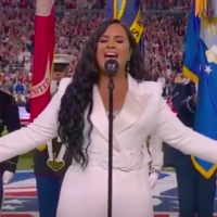 VIDEO: Demi Lovato Sings the National Anthem at the 2020 Super Bowl