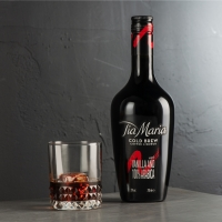 TIA MARIA Cold Brew Coffee Liqueur Releases New Bottle Design & RTD Iced Coffee Frapp Photo