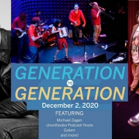 Michael Zegen and More to Take Part in The Museum Of Jewish Heritage's GENERATION TO  Photo
