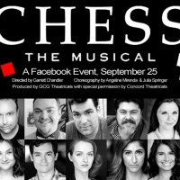 GCG Theatricals To LiveStream CHESS THE MUSICAL on Facebook Photo