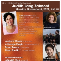 75+1 Celebrating Composer Judith Lang Zaimont's 75th Birthday to be Presented at New York Photo