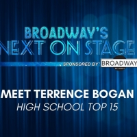 Meet the Next on Stage Top 15 Contestants - Terrence Bogan
