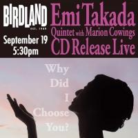 Emi Takada Celebrates New Album Release with Performance at Birdland Photo
