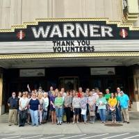 Warner Theatre Welcomes Back Volunteers! Photo