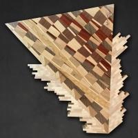 Wood Artist Jeff Rogalski Exhibit Presented at Eisemann Center Photo