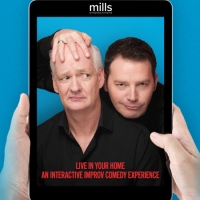 NJPAC Announces Interactive Virtual Live Zoom Performance with Colin Mochrie & Brad S Photo