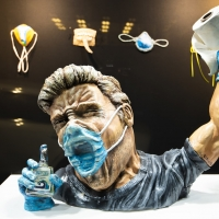 Curated Storefront Presents Online Exhibit MASK-R-AID Photo