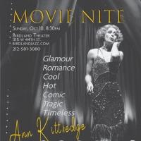 Ann Kittredge to Bring MOVIE NITE to The Birdland Theater