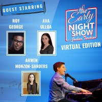 Joshua Turchin Plays Piano With Roy George, Talks FROZEN With Arwen Monzon-Sanders an Photo