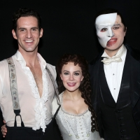 Photo Flash: THE PHANTOM OF THE OPERA Celebrates its 32nd Anniversary on Broadway Photo