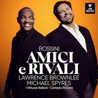 Lawrence Brownlee and Michael Spyres To Release New Erato Album 'Amici E Rivali' Photo