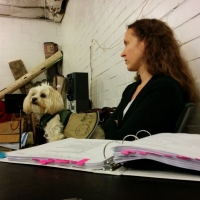 BWW Backstage Pets: MAEGAN MCNERNEY AZAR & THOMAS AZAR and Benjamin Photo