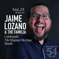 10 Videos That Get Us Excited for JAIME LOZANO & THE FAMILIA: CELEBRANDO THE HISPANIC Photo