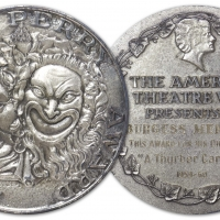 Burgess Meredith's 1960 Special Tony Award For Directing A THURBER CARNIVAL Will Be A Photo