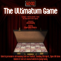 World Premiere Of New Play, THE ULTIMATUM GAME Live Streams On Sunday Photo