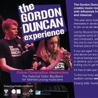 Young Musicians Invited to Audition for The Gordon Duncan Experience Composition Cour Photo
