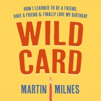 Martin Milnes Records The Audiobook Of 'Wild Card' For Audible Photo