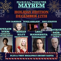 Patrick Page, Ephraim Sykes & More Join Musical Theatre Mayhem: Holiday Edition Photo