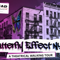 BUTTERFLY EFFECT, a Theatrical Walking Tour in East Village, is Now Being Presented by Nom Photo
