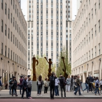 Frieze Sculpture at Rockefeller Center to Return for its Second Year Photo