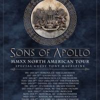 SONS OF APOLLO Announces 2020 'MMXX Tour'