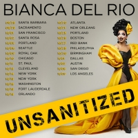 Bianca Del Rio UNSANITIZED Comedy Tour Announced, Tickets On Sale This Friday Photo