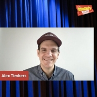 VIDEO: Alex Timbers Visits Backstage LIVE with Richard Ridge- Watch Now! Photo