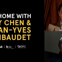 AT HOME WITH… Series Continues With Ray Chen & Jean-yves Thibaudet