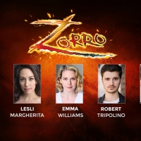 Full Cast Announced For ZORRO In Concert At Cadogan Hall