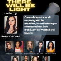 THERE WILL BE LIGHT Fundraiser Concert Will Be Hosted by Sarah Drake on May 14th Photo