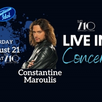 Constantine Maroulis To Perform In Hagerstown MD This August Photo