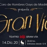 El Coro de Hombres Gays de Madrid presenta su nuevo concierto GRAN VÍA Photos