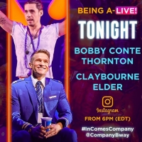 COMPANY's Bobby Conte Thornton and Claybourne Elder Will Go Live on Instagram Photo
