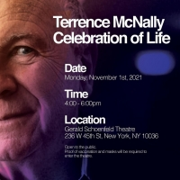 Broadway Will Gather Next Month to Celebrate the Life of the Late Terrence McNally Photo