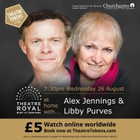 Theatre Royal Bury St Edmunds Adds Two More Shows to Their AT HOME WITH... Series Photo