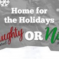 Go Home For The Holidays with Naughty & Nice Virtual Shows at Comedy Works Photo
