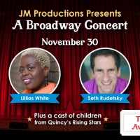 JM Productions To Present Broadway's Lillias White and Seth Rudetsky!
