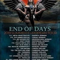 Drummer Jordan Cannata (Adrenaline Mob, Stereo Satellite) On European Tour with Dark Sky Choir