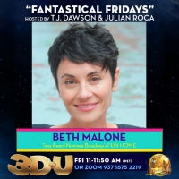 3-D Theatricals Announces 3D+U Guests For May 14 and 15 - Nikki Snelson, Lisa Loeb, and Beth Malone