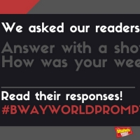 #BWWPrompts: Answer With A Show Tune Lyric - How Was Your Weekend? Photo