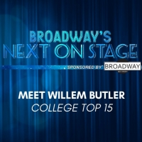 Meet the Next on Stage Top 15 Contestants - Willem Butler