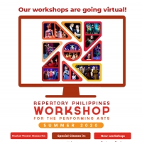 Repertory Philippines' Summer Workshops Migrate Online In July 2020 Photo
