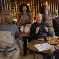 BWW TV: See WAITRESS Cast Members Surprise PizzaExpress Customers With a Performance Photo