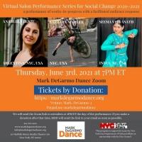 Mark DeGarmo Dance to Broadcast Virtual Salon Performance Series for Social Change in Photo