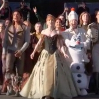 VIDEO: FROZEN Tour Cast Performs At The Rose Parade