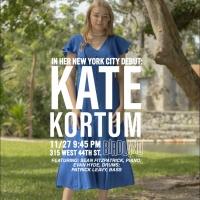 Jazz Vocalist Kate Kortum Will Make Her Debut at the Birdland Theater Photo