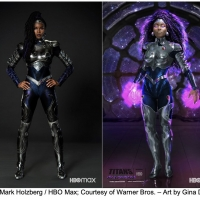 HBO Max Unveils New 'Blackfire' Supersuit From Season Three of TITANS Photo